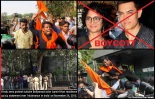 Aamir Protest by hindu Sena.