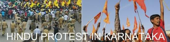Hindu Protest in Karnataka