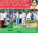 Murder of Mousumi Saha. Hindus Be Tolerant.