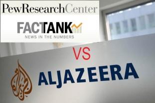 Pew vs aljazeera