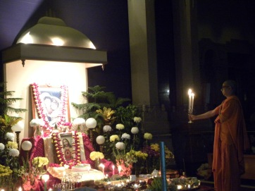 Christmas celebrated at Belur Math in 2014