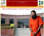 baba ramdev at JNU