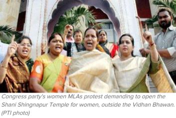 Congresso Menace on Hindu matter