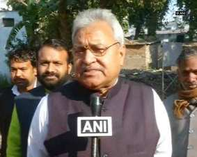 Laxmikant Bajpai, President of the Uttar Pradesh unit of BJP.
