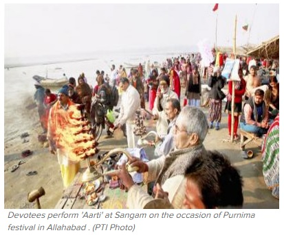 Max Pollution In Ganga Is A High Threat To Upcoming Prayag