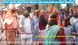 Resotoration of Hindu Rights in West Bengal
