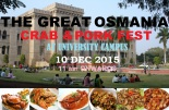 The Great Osmania Crab and Pork Fest 2015