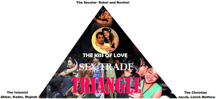 The Kiss of Love Sex Triangle