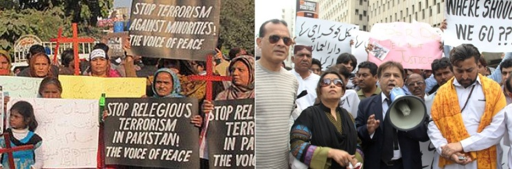 Minority Protest in Sindh-Pakistan