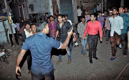 Nellore PS Attack by Jihadi Mob