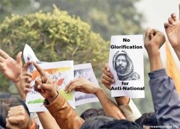 No Glorification for Anti-National