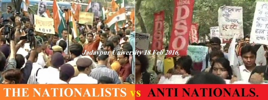 The Nationalist vs Anti Nationals