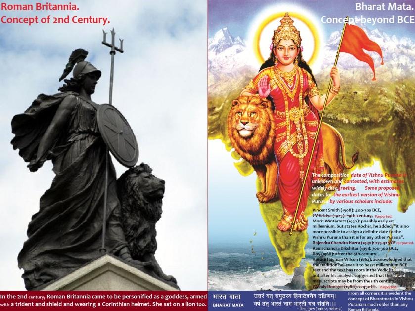 Bharat Mata and Roman Britannia