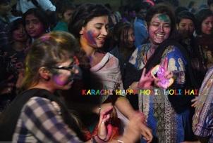 Karachi Holi