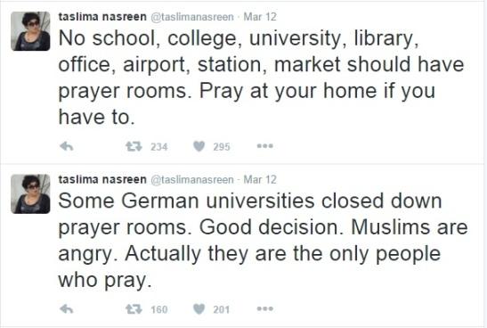 tn on namaj in german universities.