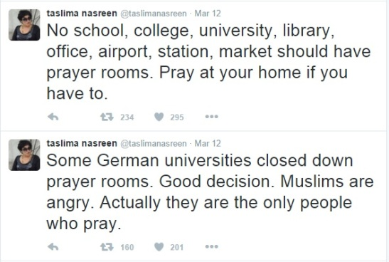 tn on namaj in german universities.