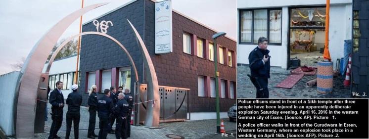Essen Gurudwara attack in Germany