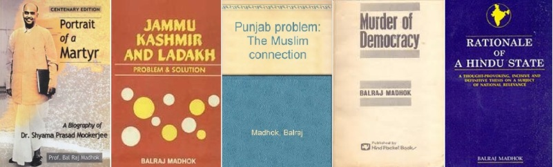 Books by Prof Madhok