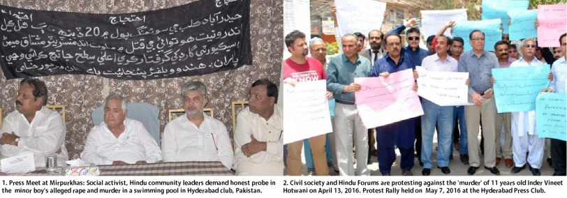 Protest and Press Meet