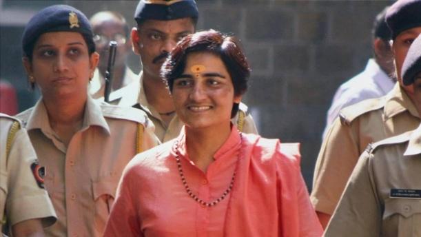 Sadhvi Pragya Thakur. (File photo | PTI).