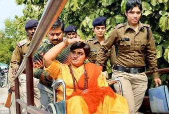 Sadvi Pragya towards a Court