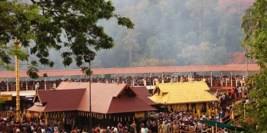 Sabarimala Sree Dharma Sastha Temple, dedicated to Lord Ayyappa. One of the richest temples in South India under Communist grab again....