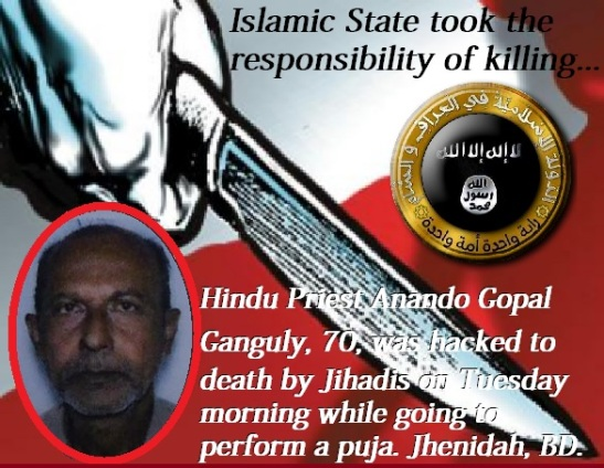 Hindu Priest Killing in Bangladesh