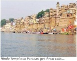 Hindu Temple in Varanasi get threat calls