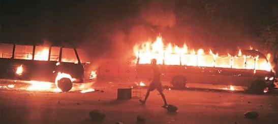 Jammu Ablaze after Aap sambhu desecration