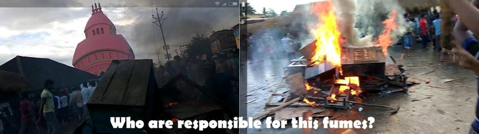 Mandir Bazar Fumes
