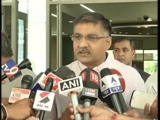 Gujarat minister of state (home) Rajnikant Patel. (File Photo).