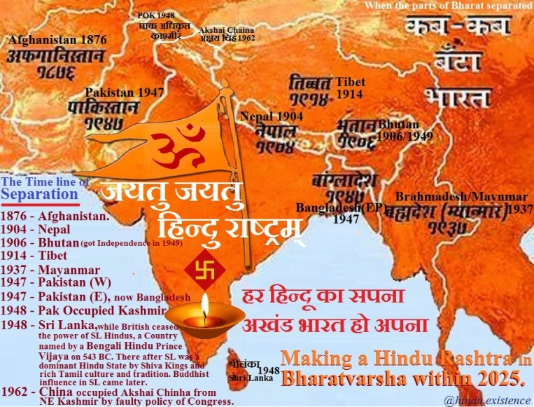 Separation and Reunification of Bharat