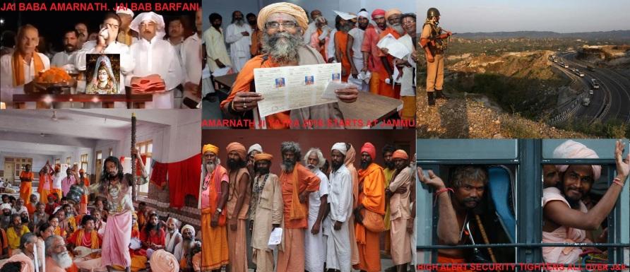 Amarnath Yatra 2016 statrs. Bom Bhole.