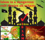 Islam denies all others