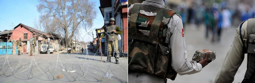 Kashmir Clamp down