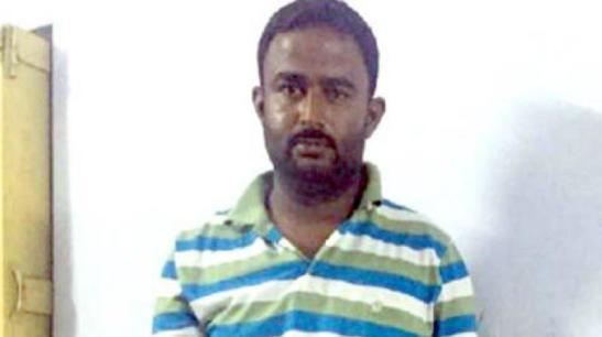 The spy named Nandal Maharaj was nabbed based on intelligence inputs. (Photo: ANI/Twitter)