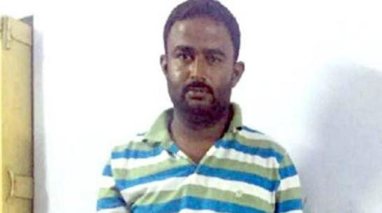 The spy named Nandal Maharaj was nabbed based on intelligence inputs. (Photo: ANI/Twitter)