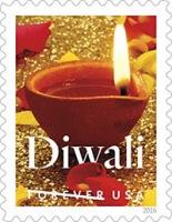 Diwali Forever US Postal Stamp
