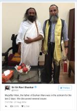 Sri Sri Tweet on Wani