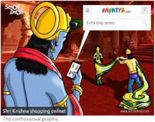 The Controversial Krishna Ad.