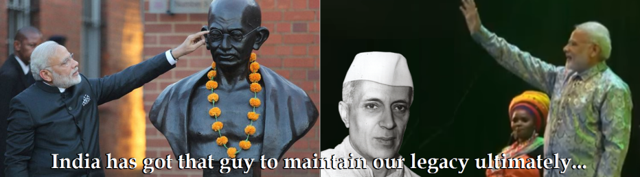 gandhi-nehru-follower-modi