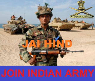 Join Indian Army (Click Here).