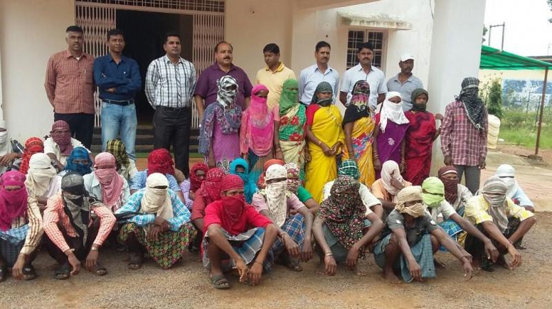 Surrendered Naxlas in Chhatisgarh