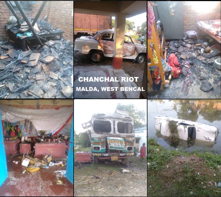 chanchal-communal-clash-malda