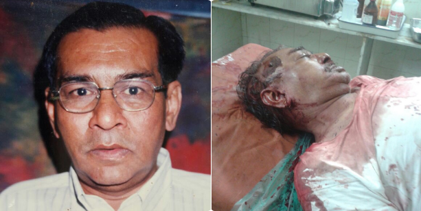 Bhupendra Vira, 61 yr old RTI activist who fought against illegal encroachments and Jihadi land mafias, shot dead.