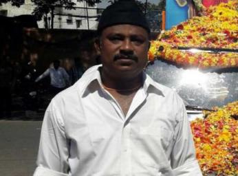 Rudresh R, murdered by suspected Jihadis in Bangalore.