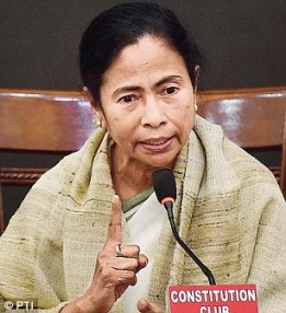 Mamata Banerjee is dismissive about the incident.