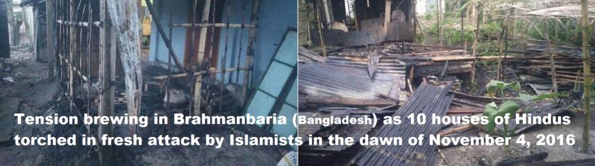 brahmanbaria-fresh-attack-hindu-houses-torched