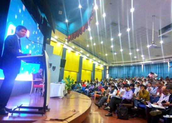 __Tufail Ahmad addressing