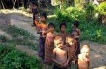 Rescued indigenous children in Bandarbans. Dhaka Tribune.